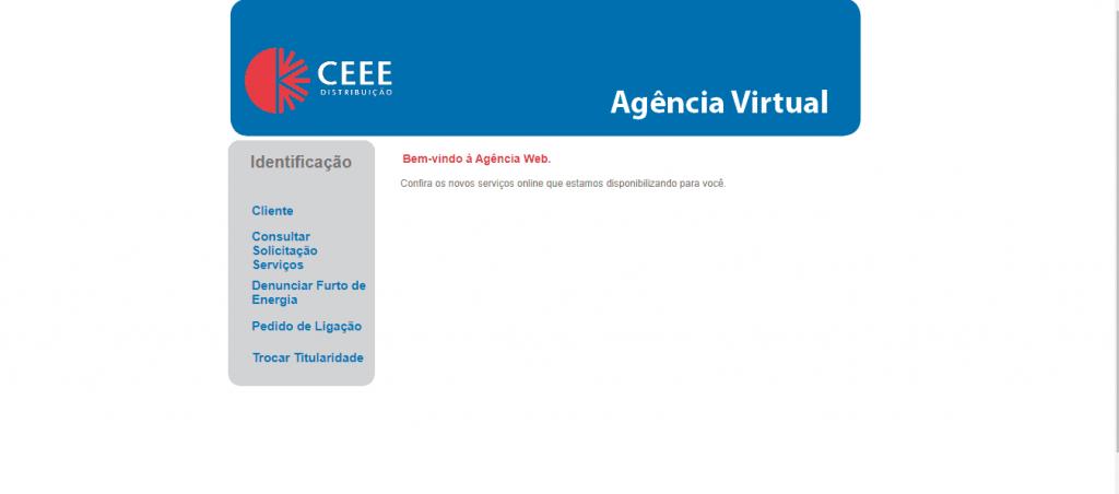 Acesse a Agência Virtual da CEEE