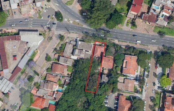 Lote/terreno à venda no bairro Cristal, em Porto Alegre