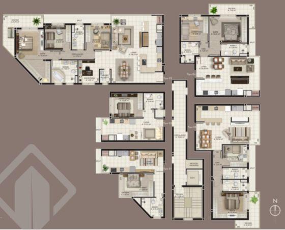 Apartamentos de 3 dormitórios à venda em Progresso, Bento Gonçalves - RS