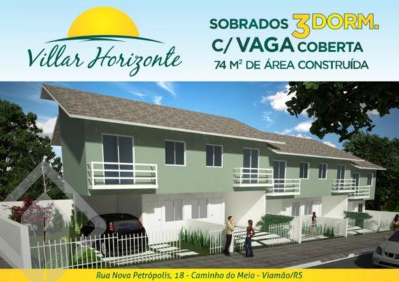 Sobrado 3 quartos à venda no bairro Novo Horizonte, em Viamão
