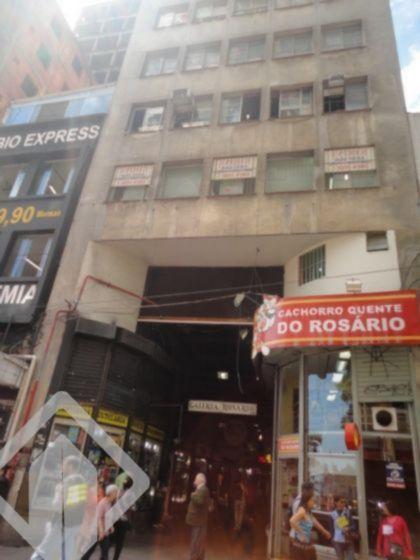 Sala na Galeria do Rosário, andar alto, com 23 de área privativa, com banheiro auxiliar, precisa reforma, com portaria 24 horas. Agende sua vista com a