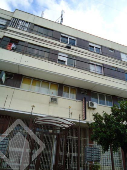Excelente apartamento de 02 dormitórios, desocupado, livng 02 ambientes com saída para amplo terraço, churrasqueira, área de serviço, Edifício com elevador e zelador. Próximo ao Banrisul da Av. Bento Gonçalves.