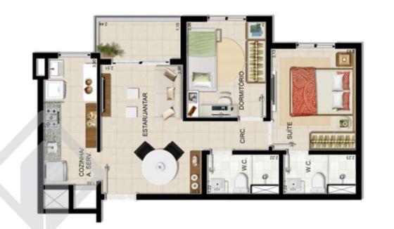 Apartamentos de 2 dormitórios à venda em Humaitá, Porto Alegre - RS