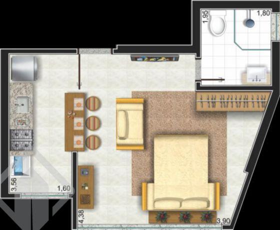 Apartamentos de 1 dormitório à venda em Santo Antônio, Porto Alegre - RS