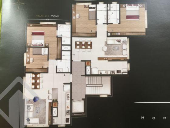 Bela obertura em construção tipo duplex com 143,18m² p. 2 dormitórios, suíte, churrasqueira na cozinha americana. No 2º piso, um lindo terraço com espera para piscina com 51,69m²p. Pensada para você viver bem, privilegiando a intimidade. Aqui você é vizinho do seu conforto e da sua privacidade. Espera para split nos dormitórios e sala. Vista. Farta de ventilação e luminosidade. Duas vagas independentes.     Construção em arquitetura contemporânea com volumetria diferenciada. Salão de festas mobiliado com muito bom gosto! Segurança com circuito fechado de TV.   Enfim..... com tudo de bom para você viver bem! Estou disponível no WhatsApp. Adicione o fone ao lado!