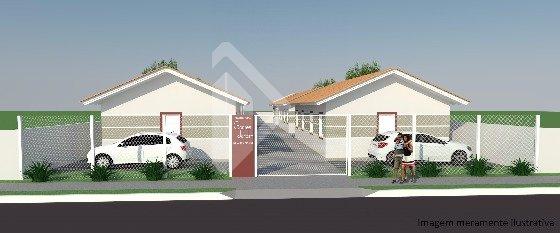 Casa de 2 dormitórios à venda em Pedras Brancas, Guaíba - RS