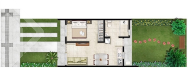Casa Em Condominio de 1 dormitório à venda em Olaria, Cachoeirinha - RS