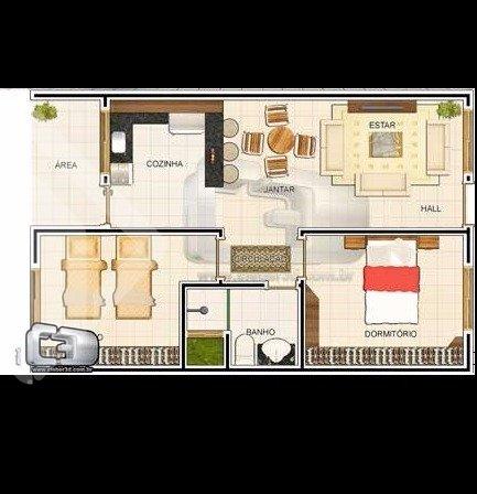 Apartamentos de 2 dormitórios à venda em Piratini, Alvorada - RS