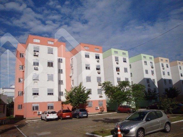 Apartamento de 02 dormitórios, living 02 ambientes, banheiro, cozinha, com vaga de garagem rotativa. Condomínio com salão de festas, playground, quadra de esportes, churrasqueira, e portaria. Venha conferir!