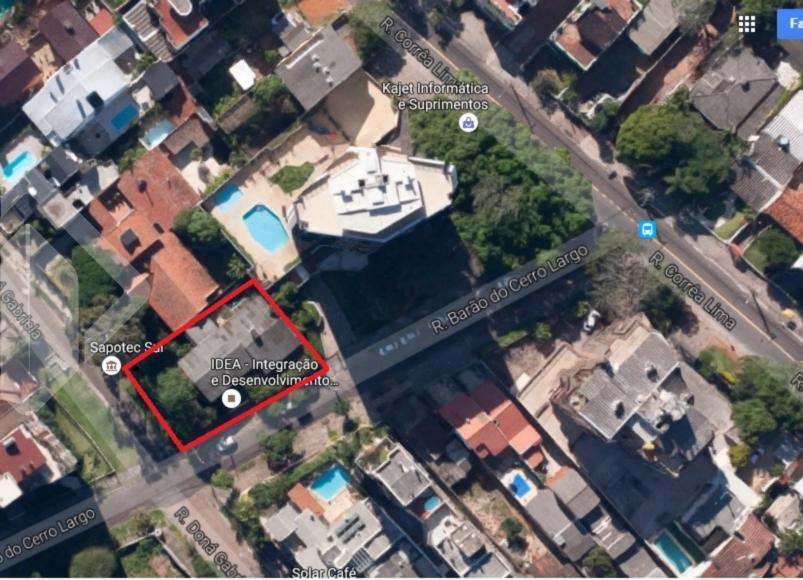 Terreno com projeto de área construida total de 2.211,52m² de 16 aptos de 2 dorm e 32 boxes, em fase final de aprovação.