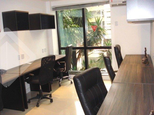 Excelente sala comercial de frente com 32m², finamente mobiliado e decorada, cozinha e lavabo, localizado em ponto privilegiado da Protásio Alves, com acesso fácil a qualquer ponto da cidade. próxima a todos os recursos que o bairro oferece. Agende sua visita!