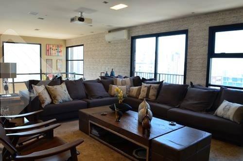 Cobertura 3 quartos para alugar no bairro Pinheiros, em São Paulo