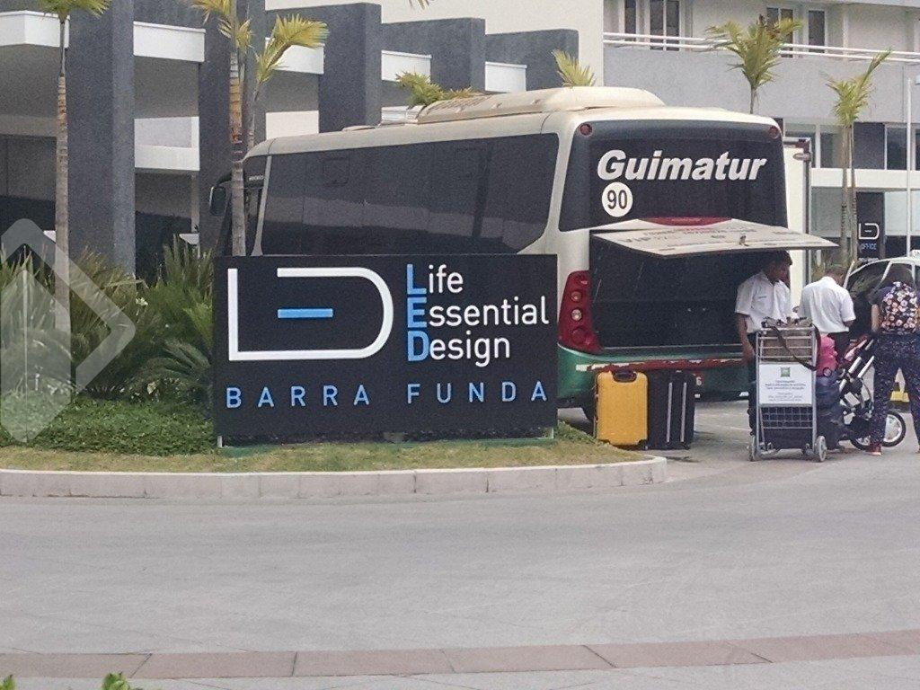 Sala/conjunto comercial 1 quarto para alugar no bairro Barra Funda, em São Paulo