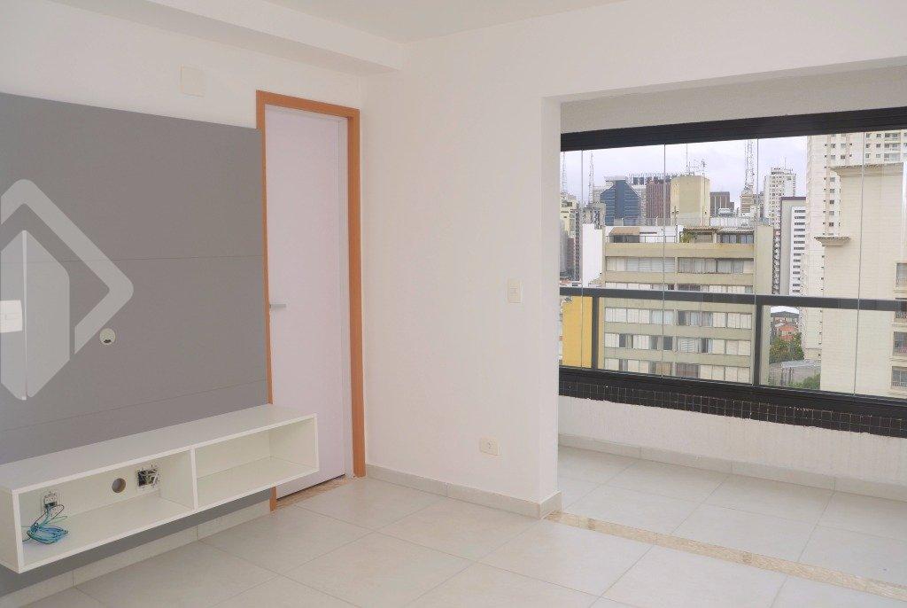 Flat 1 quarto para alugar no bairro Consolação, em São Paulo