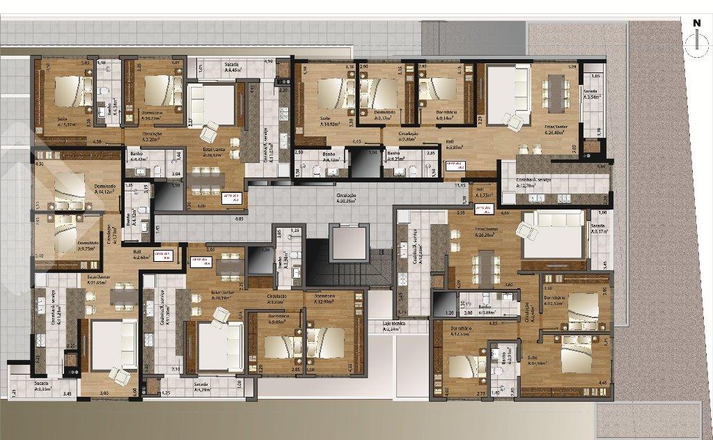Apartamentos de 2 dormitórios à venda em Centro, Garibaldi - RS