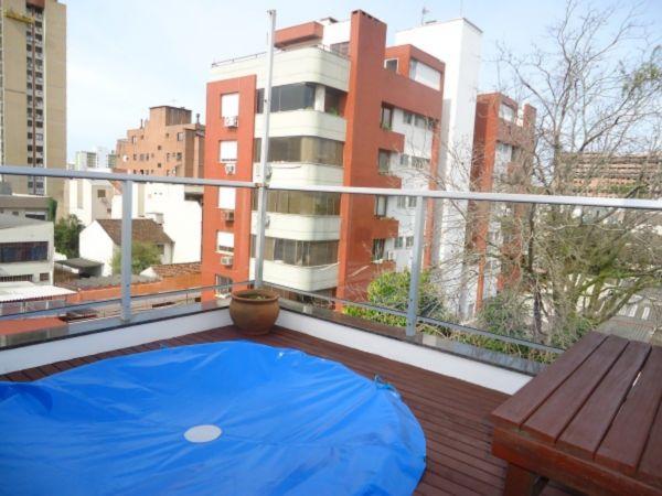 Cobertura 2 quartos para alugar no bairro Santana, em Porto Alegre