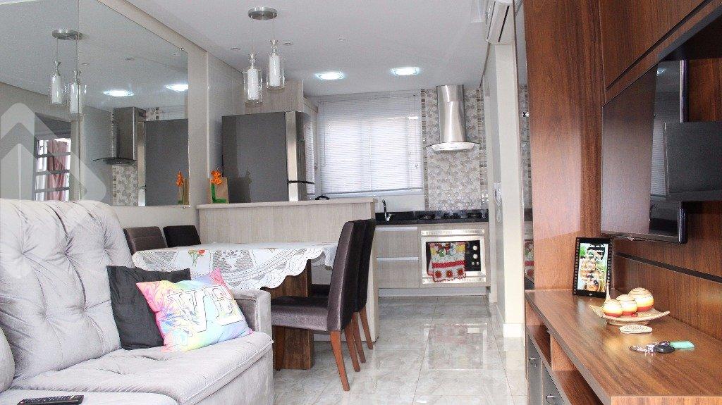 Casa em condomínio 2 quartos à venda no bairro Canudos, em Novo Hamburgo