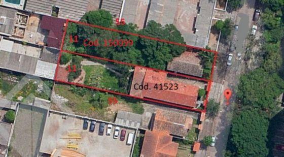 Lote/terreno 3 quartos à venda no bairro Cristal, em Porto Alegre