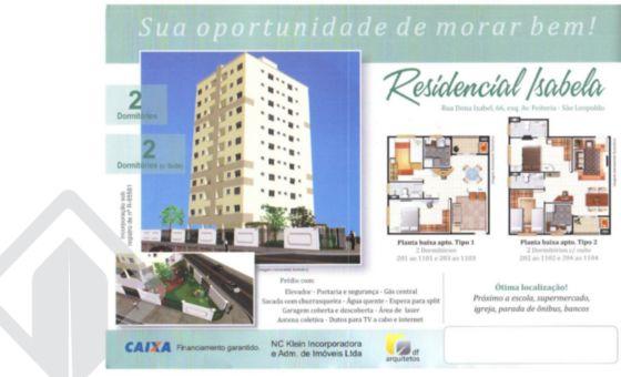 Apartamento 2 quartos à venda no bairro Rio Branco, em São Leopoldo