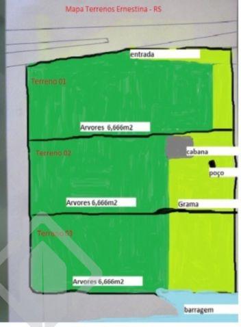 Lote/terreno à venda no bairro Centro, em Ernestina