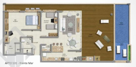 Apartamentos de 3 dormitórios à venda em Morro Das Pedras, Florianópolis - SC
